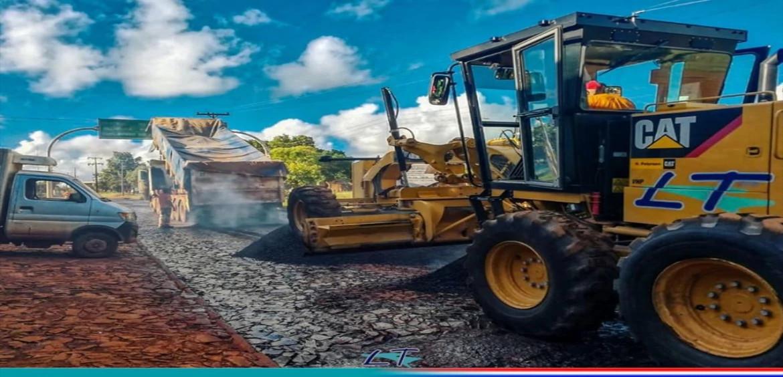 Habitantes de María Auxiliadora y Tavaí, entre ellos 1.000 familias de productores, serán beneficiados con el nuevo asfaltado.