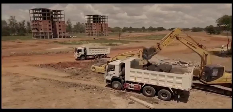 Avanzan los trabajos de infraestructura en el futuro Complejo de Mariano Roque Alonso.