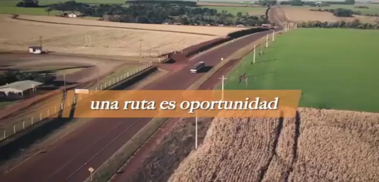 Una ruta es una oportunidad, es trabajo, es vida! una ruta nos conecta.