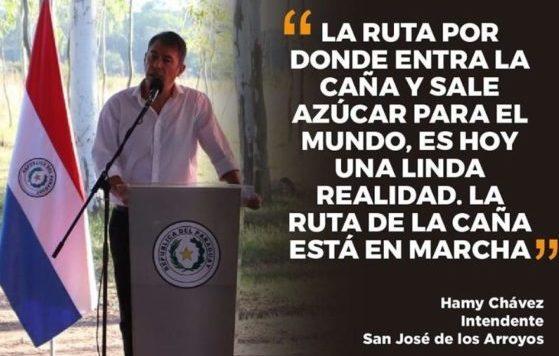 OBRA IMPULSARÁ DESARROLLO ECONÓMICO Y PRODUCCIÓN DE CAÑA DULCE.