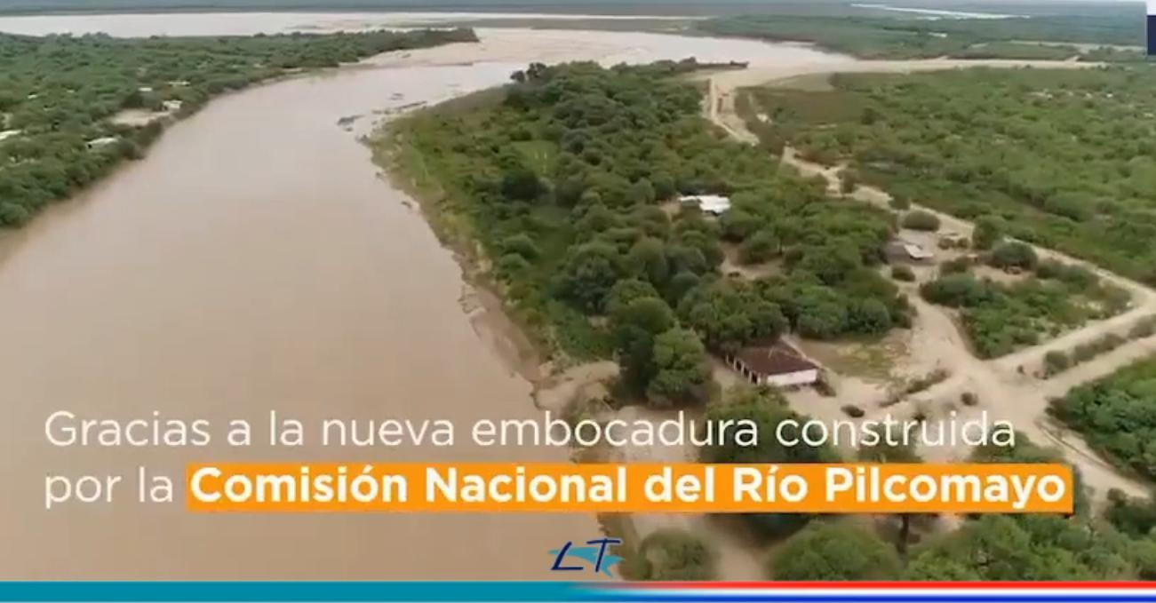 200 DIAS DEL INGRESO ININTERRUMPIDO DEL RÍO PILCOMAYO A TERRITORIO NACIONAL.
