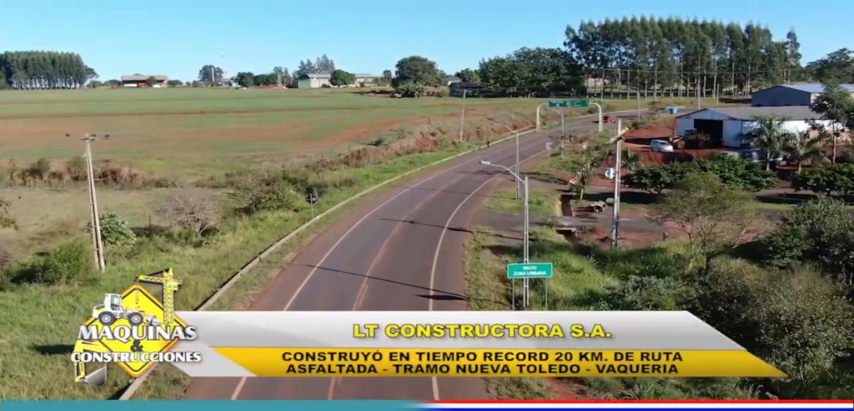 PAVIMENTACION ASFALTICA TRAMO #VAQUERIA #NUEVATOLEDO.